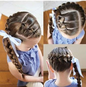 37 Peinados Para Ninas Con Ligas Faciles Y Nuevos