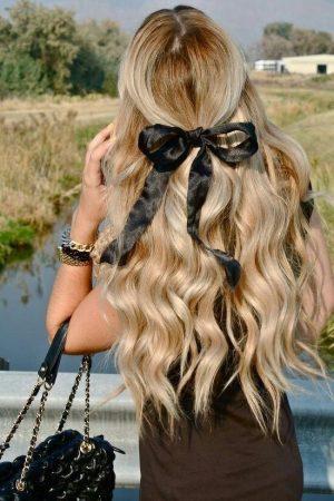 hairstyles with loop waves
