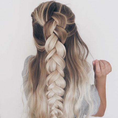 maxi braid wave hairstyles