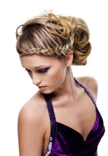 Peinados Moda Con Trenzas Recogidos Faciles Rodete Para Finalizar Look Modelo Que Lo Luce Ideal Utilizar En Fiesta Casamiento Cumpleanos