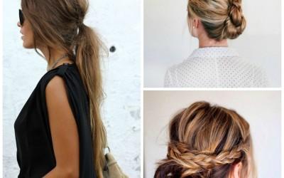 Peinados fáciles, rápidos y elegantes