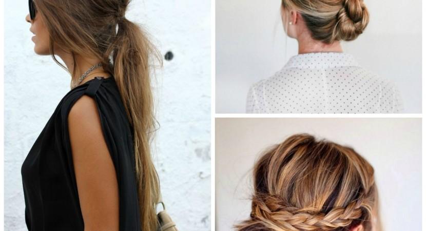 Tendencias de peinados f ciles r pidos y elegantes mas - Peinados faciles y rapidos paso a paso ...