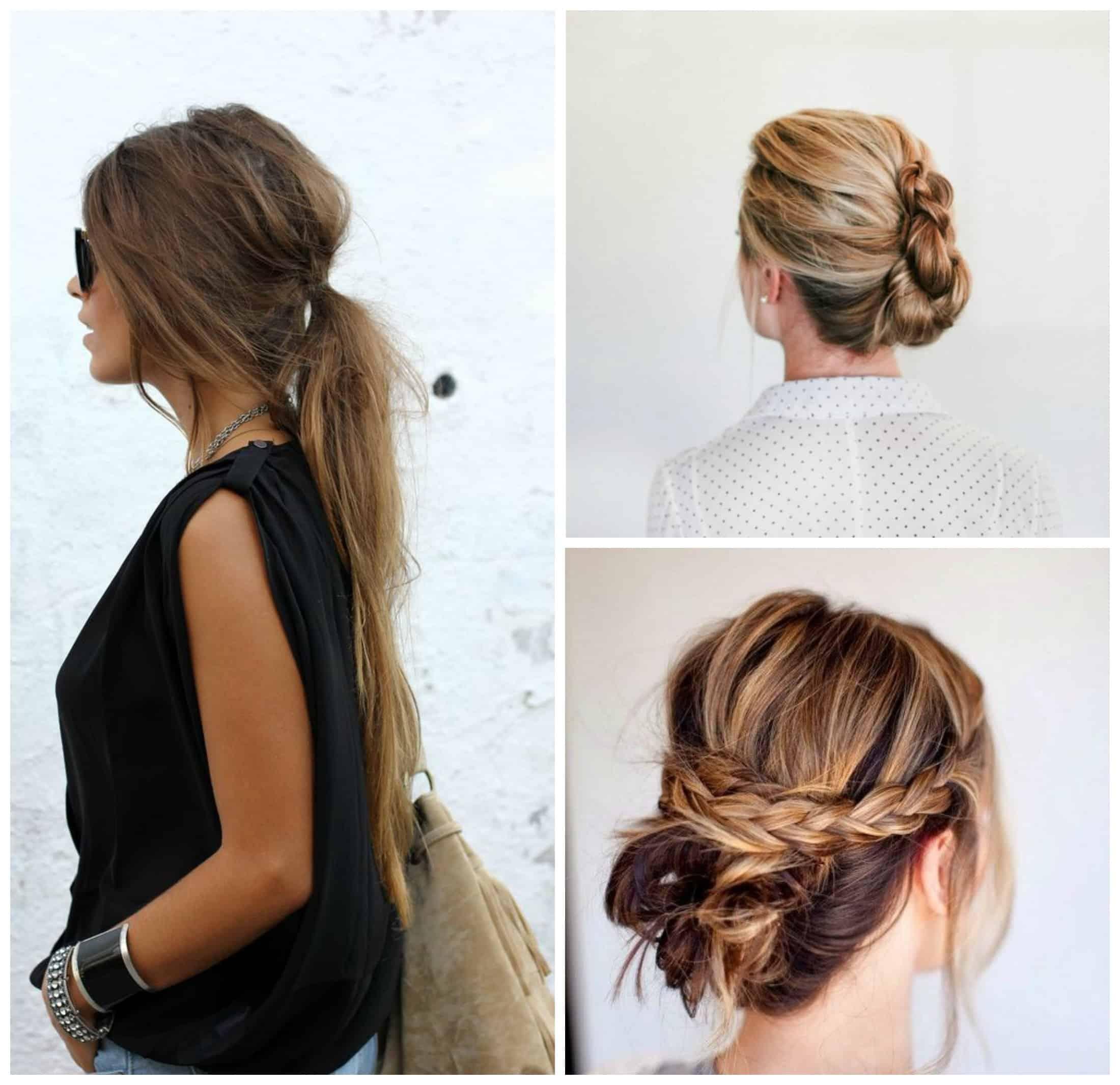 Peinados para cabello largo del diario