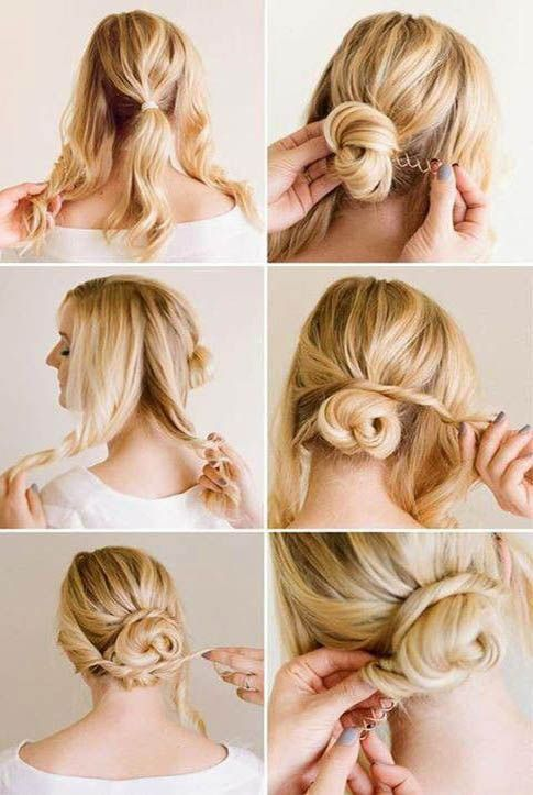 peinados recogidos sencillos para eventos informales