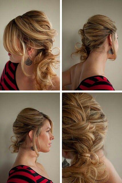 peinados faciles y bonitos