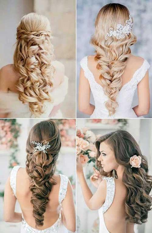 peinados para bodas ondulado rizado
