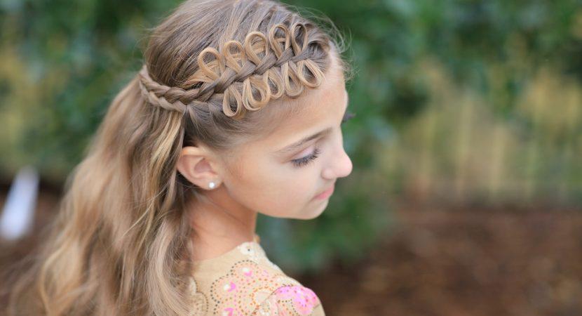 57 tendencias de peinados para nias rpidos fciles y sencillos que hasta un padre puede hacerlo - Peinados Nios