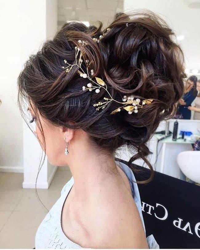 Videos de peinados de novia recogidos