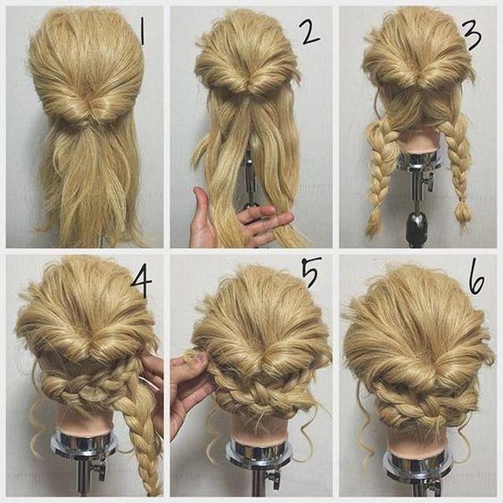 Peinados recogidos faciles para novias