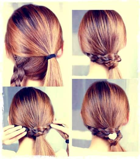 Imperdible tendencias de peinados f ciles r pidos y elegantes tiempo de san juan - Peinados para hacerse una misma ...