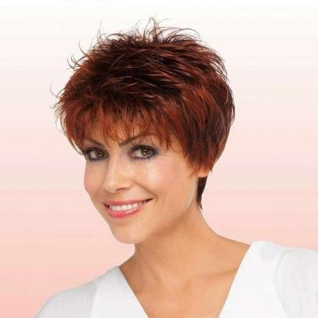 Short Pixie Bangs Haircuts