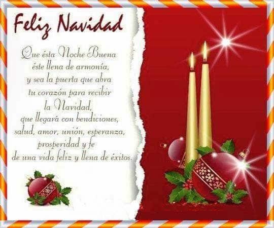Textos para felicitar la navidad