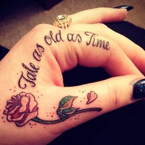 Tatuajes para Mujeres en la Mano Pequeos y con su Significado