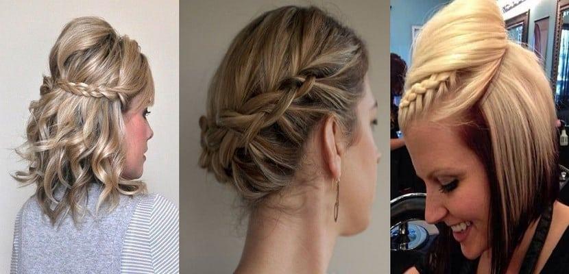 30 Ideas De Peinados Para Cabello Corto Muy Faciles 2019 2020