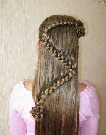 37 tipos de peinados con trenzas f ciles paso a paso 2018 2019 - Como hacer peinado para boda ...