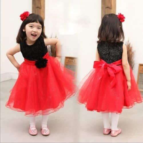Como combinar vestido rojo de invierno