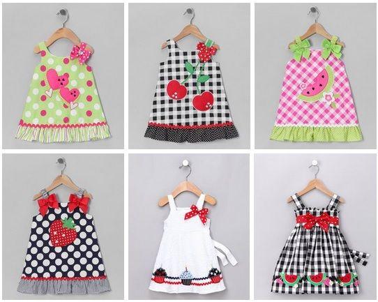 Vestidos para bebes modernos