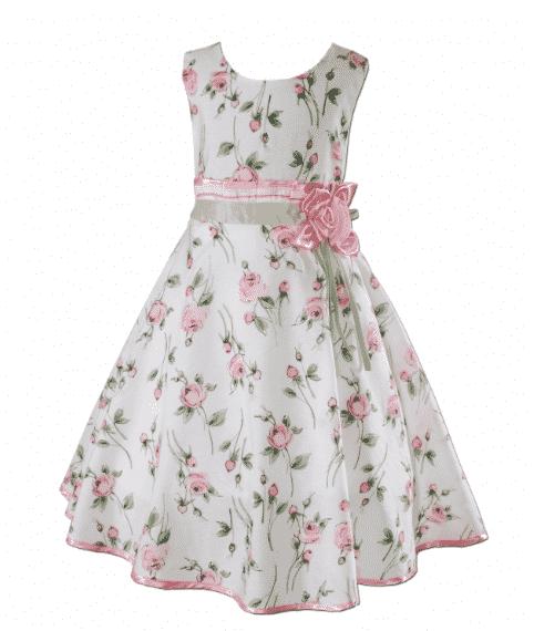 c58a6a234 Vestido de niña que puedes conseguir en diferentes tallas de colores blanco  con un tul rosa o violeta que son colores que le gustan mucho a los niños y  ...