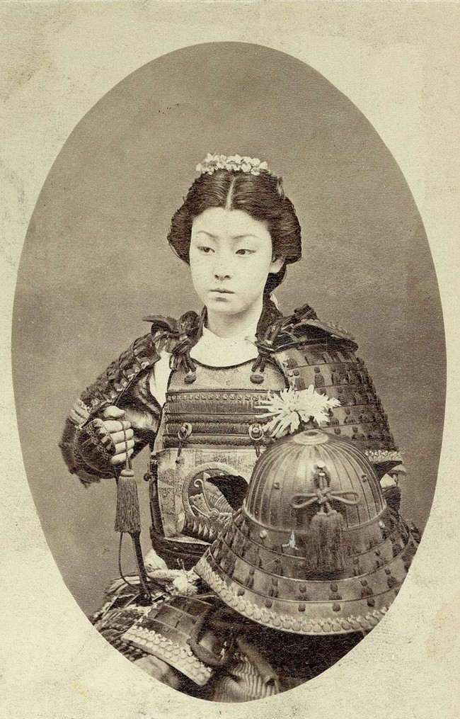 5-guerrero samurai mujer