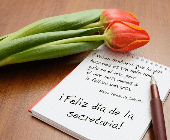 Envia Saludos De Feliz Día De La Secretaria En Frases Y Mensajes