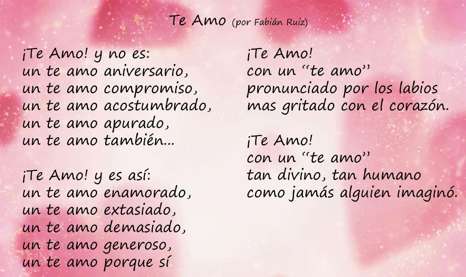 Poemas poco conocidos largos de amor [PUNIQRANDLINE-(au-dating-names.txt) 34