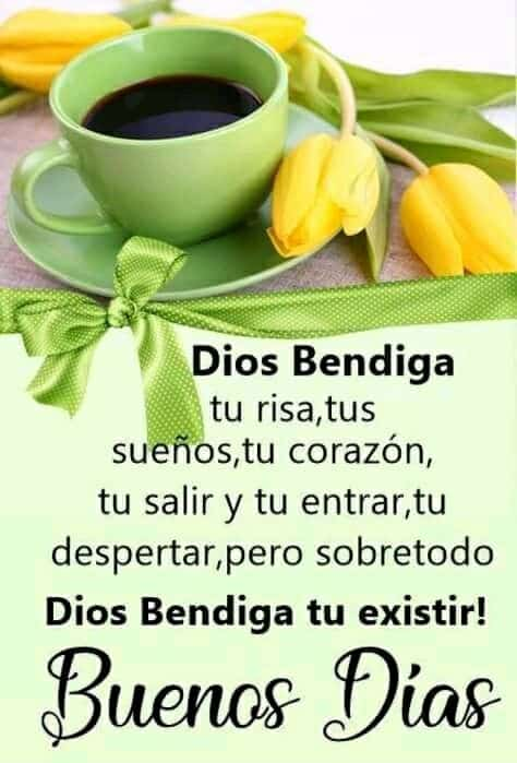buenos dias bendiciones