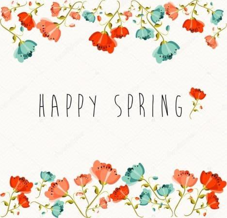 feliz dia de la primavera en ingles