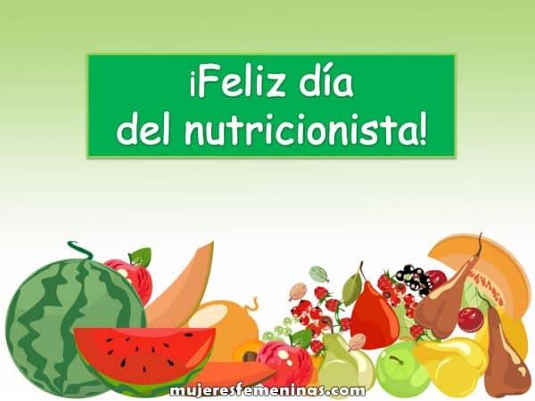feliz dia del nutricionista