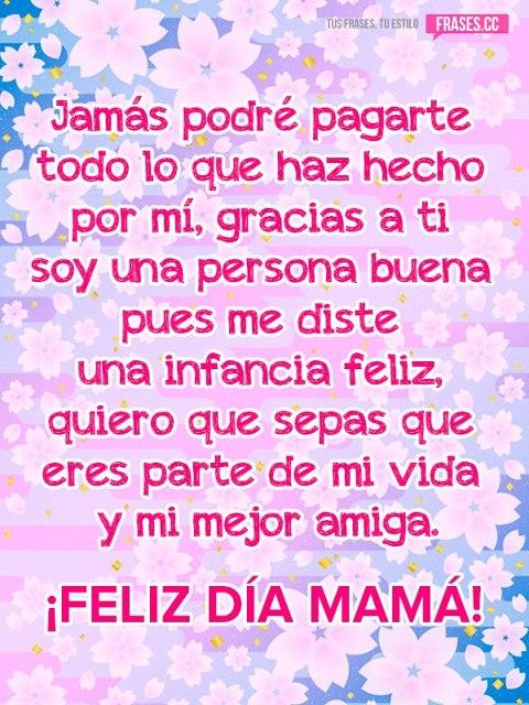 Frases Para Saludar En El Día De La Madre Mujeres Femeninas