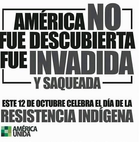 12 De Octubre Día De La Raza Diversidad Cultural O Resistencia Indígena