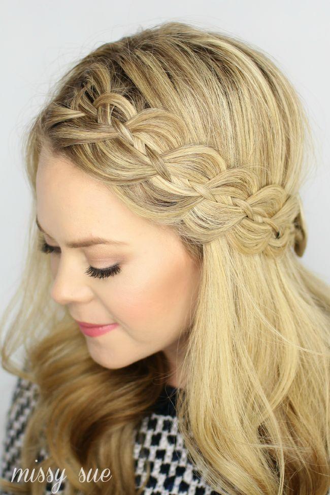 47 Peinados Con Trenzas Rapidos Y Faciles Para Tu Pelo Largo - Peinados-con-tranzas