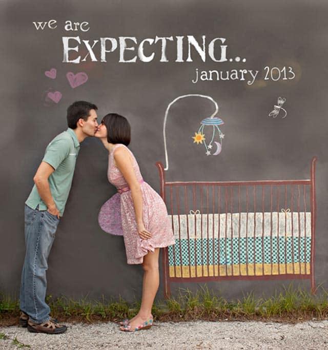 27f5197b7 37 ideas originales para anunciar tu embarazo - Mujeres Femeninas