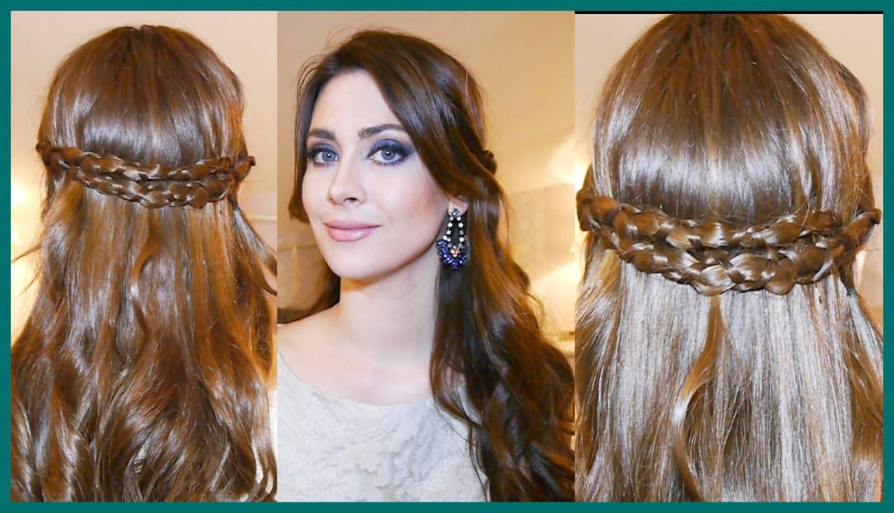 47 peinados con trenzas r pidos y f ciles para tu pelo largo mujeres femeninas - Como hacer peinado para boda ...