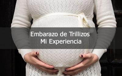 embarazo trillizos