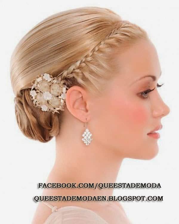 47 peinados con trenzas r pidos y f ciles para tu pelo - Peinados de novia actuales ...