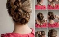 peinados fáciles con trenzas