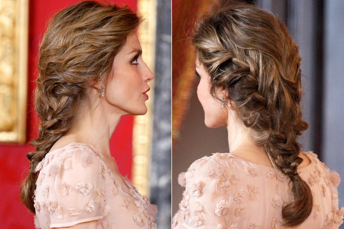 47 peinados con trenzas r pidos y f ciles para tu pelo - Peinados modernos para boda ...