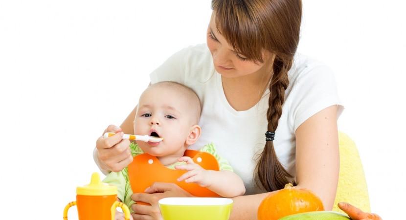 Primera Comida de Bebes