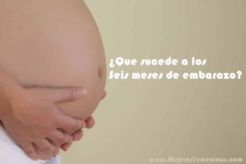 S ntomas a los 6 meses de embarazo unico y multiple mujeres femeninas - Tos bebe 6 meses ...