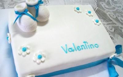 Torta y Pasteles Bautismo de Niños