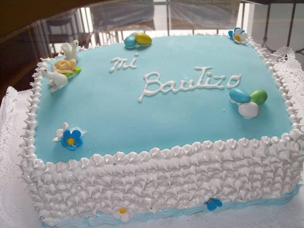 Las 35 mejoras tortas para celebrar un bautismo de niños - Mujeres ...