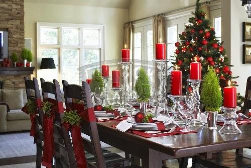 decorar-la-mesa-del-comedor-para-navidad