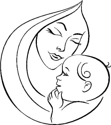 Image gallery dibujo madre for Cosas para el hogar