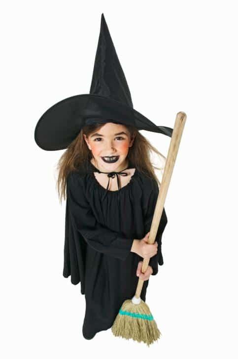 Disfraces Para Ninas Originales Y Caseros De Halloween - Maquillaje-bruja-para-nia