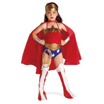 Disfraz Para Niña De Lujo De Mujer Maravilla
