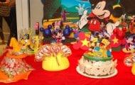 Fiesta Mickey mouse - mesa torta
