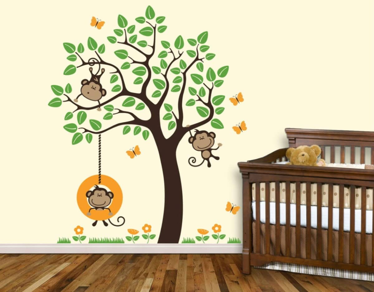Vinilos infantiles decorativos para pared increibles - Decorar paredes habitacion ...
