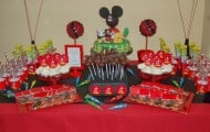Mickey Minnie Parties, De Mickey