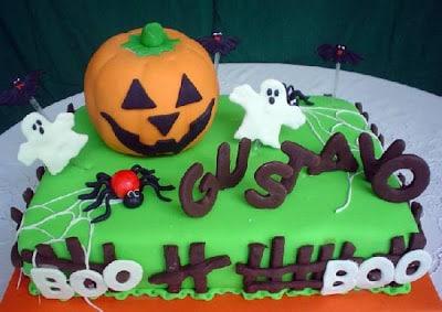 Torta Infantil -Halloween