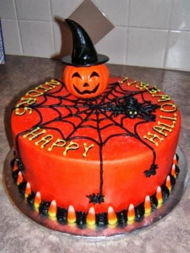 Tortas de Halloween con Calabazas 10